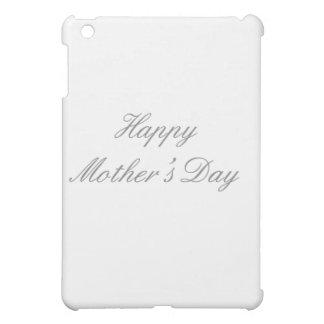 Glückliches Grau der Mutter Tagesdie MUSEUM Zazzle iPad Mini Cover