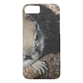 Glückliches Grundeichhörnchen iPhone 8/7 Hülle