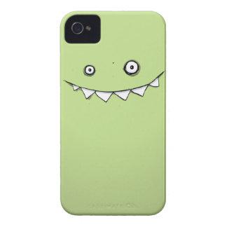 Glückliches grünes Monster in meiner Tasche iPhone 4 Cover