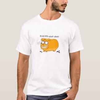 Glückliches Hallo-wheek wheek T-Shirt
