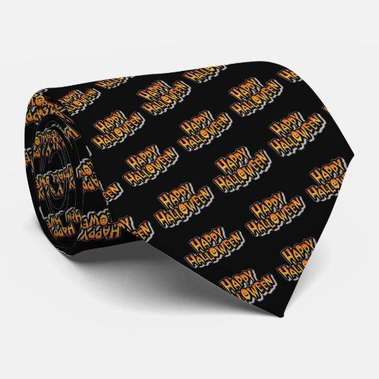 Glückliches Halloween Bedruckte Krawatten