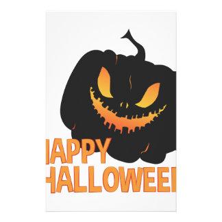 Glückliches Halloween Briefpapier