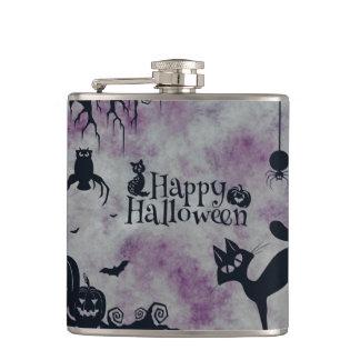 Glückliches Halloween Flachmann