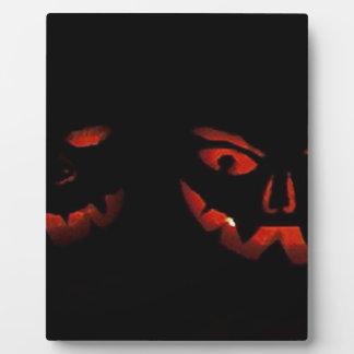 Glückliches Halloween Fotoplatte