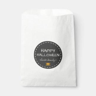 Glückliches Halloween Geschenktütchen