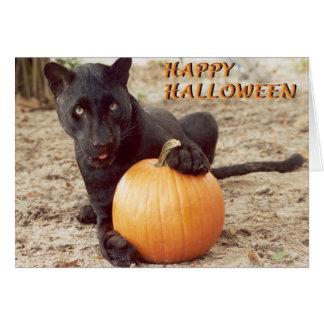 Glückliches Halloween Grußkarte