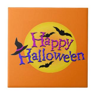 Glückliches Halloween Ilustrations Fliese