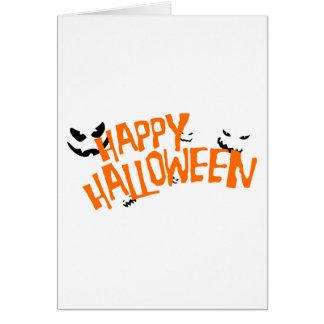 Glückliches Halloween Karte
