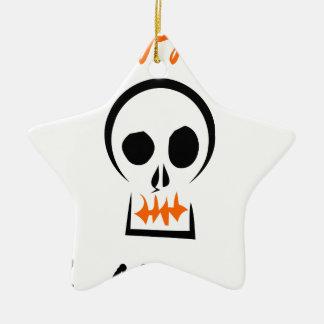 glückliches Halloween Keramik Ornament