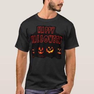 Glückliches Halloween-Kürbis-Shirt T-Shirt