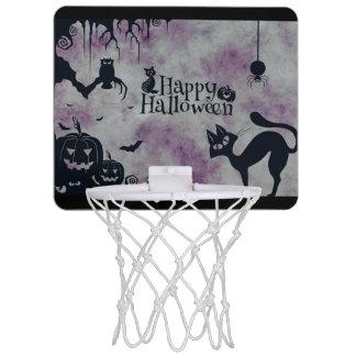 Glückliches Halloween Mini Basketball Ring