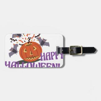 Glückliches Halloween-Motiv Gepäckanhänger