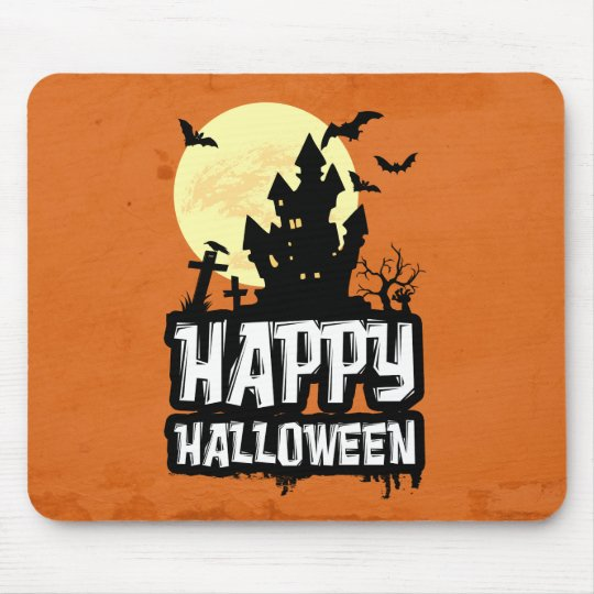 Glückliches Halloween Mousepads
