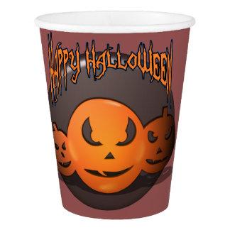 Glückliches Halloween Pappbecher