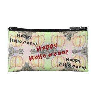Glückliches Halloween! Playfully-Gemusterte Kosmetiktasche