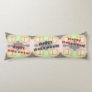 Glückliches Halloween! Playfully-Gemustertes Seitenschläferkissen