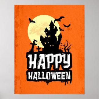 Glückliches Halloween Poster