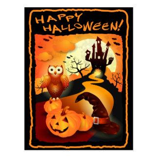 Glückliches Halloween! Postkarte