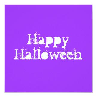 Glückliches Halloween, purpurrot