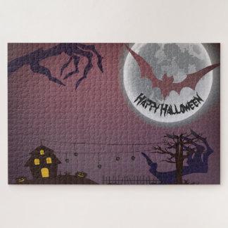 Glückliches Halloween Puzzle