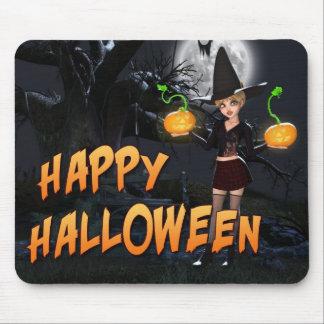 Glückliches Halloween Skye Mousepad