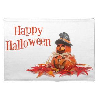 Glückliches Halloween Stofftischset