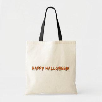 Glückliches Halloween Budget Stoffbeutel
