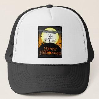 glückliches Halloween Truckerkappe