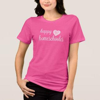 Glückliches Homeschooler Herz T-Shirt