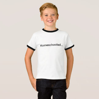 Glückliches homeschooler Shirt