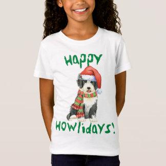 Glückliches Howliday Beardie T-Shirt