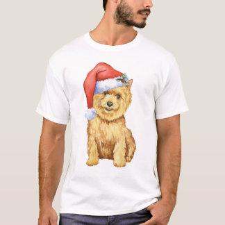Glückliches Howlidays Norwich Terrier T-Shirt
