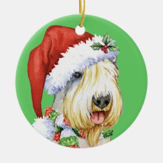 Glückliches Howlidays Sealyham Terrier Keramik Ornament