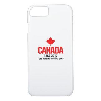 Glückliches KANADA 150 Jahre kanadische iPhone 8/7 Hülle