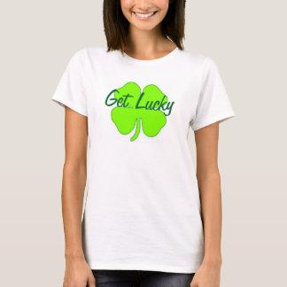 Glückliches Kleeblatt T-Shirt