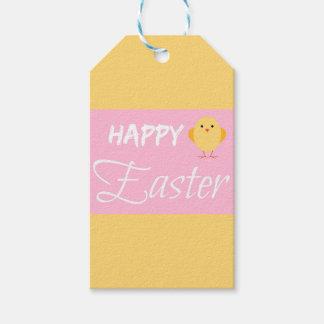 Glückliches kleines Küken Ostern Geschenkanhänger