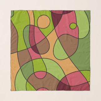 Glückliches kreatives Pink&Green Schal
