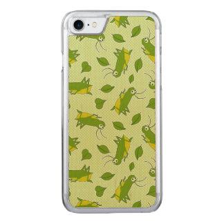 Glückliches Kricket-Muster Carved iPhone 8/7 Hülle