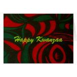Glückliches Kwanzaa Grußkarte