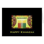 Glückliches Kwanzaa Karte