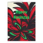 Glückliches Kwanzaa Karten