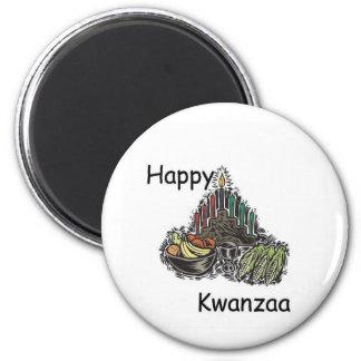 Glückliches Kwanzaa Kühlschrankmagnet