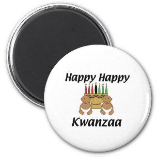 Glückliches Kwanzaa Magnets