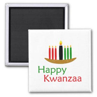 Glückliches Kwanzaa Magnete