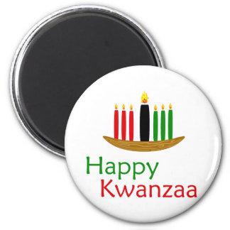 Glückliches Kwanzaa Kühlschrankmagnete