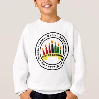 Glückliches Kwanzaa mit 7 Prinzipien Sweatshirt