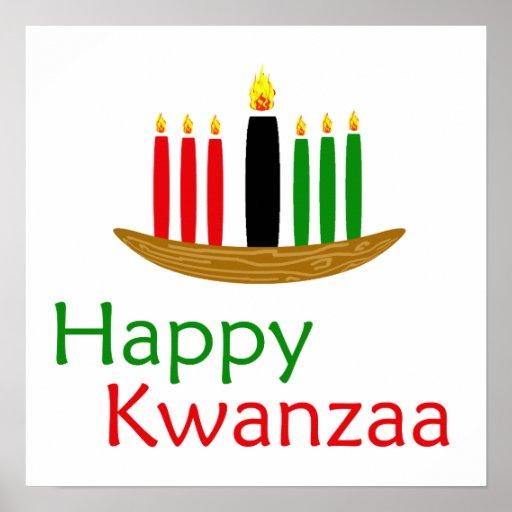 Glückliches Kwanzaa Posterdruck