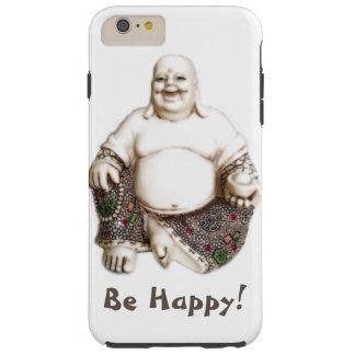 Glückliches lachendes frohes viel Glück Buddha Tough iPhone 6 Plus Hülle