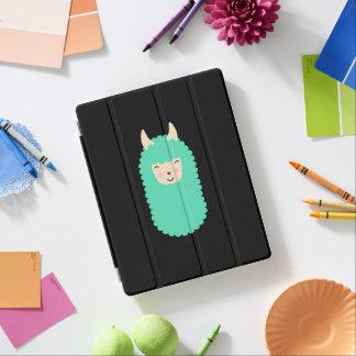 Glückliches Lama Emoji iPad intelligente Abdeckung iPad Hülle