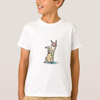 Glückliches Lama T-Shirt